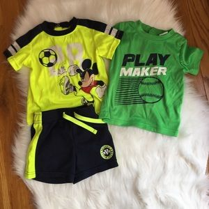 Other - 2 Boy Sports Shirts and Shorts